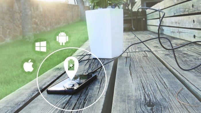 recharger son telephone avec de l'energie renouvelable