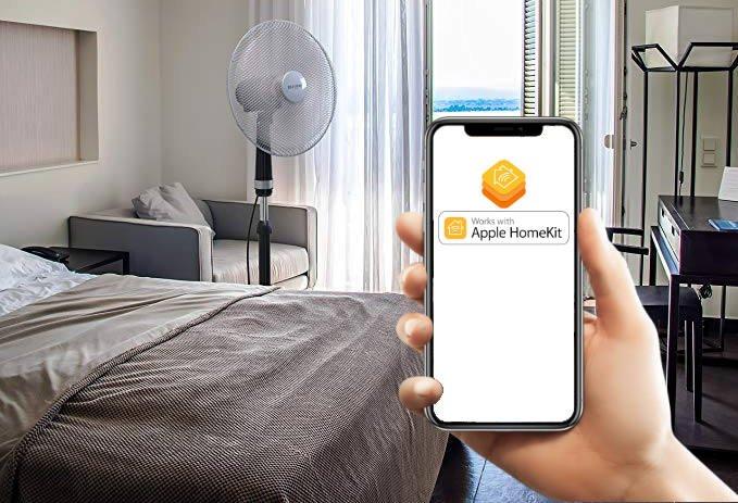 transformer un ventilateur en ventilateur connecte et intelligent grace a homekit sur iPhone
