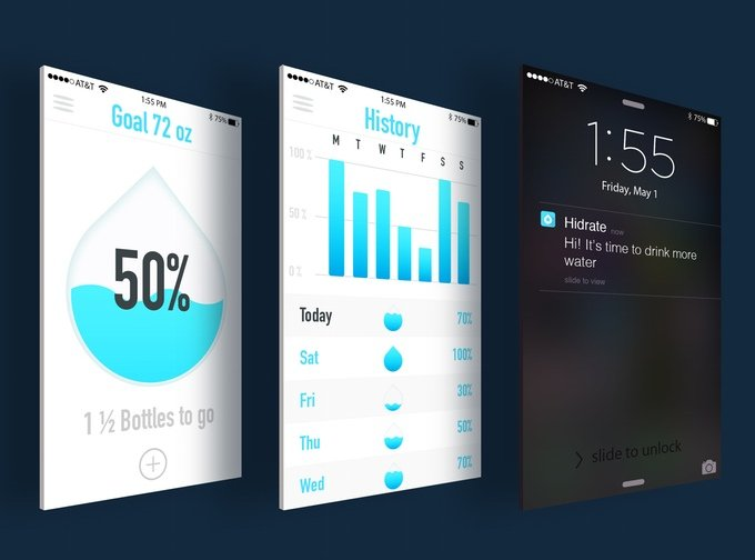syncroniser bouteille smart a son iphone