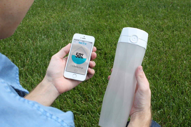smart bottle pour iphone