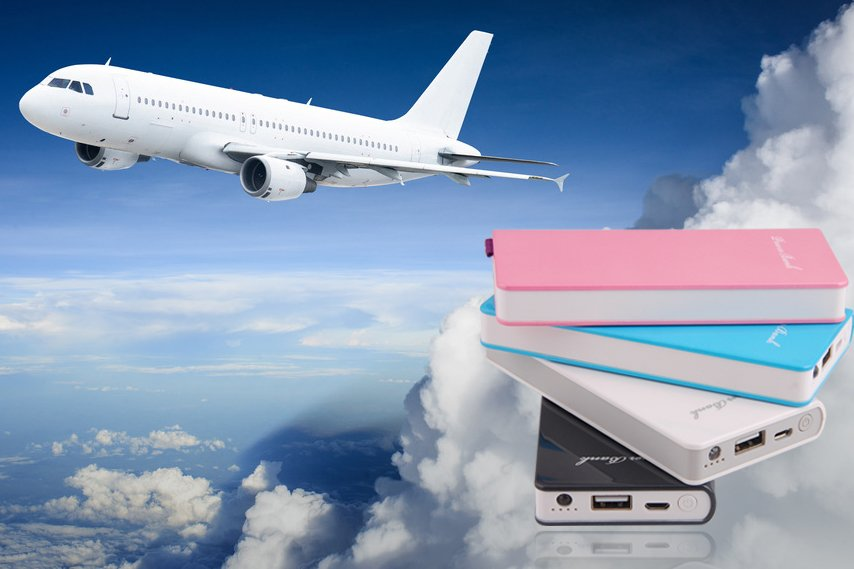 Power Bank en avion reglementation
