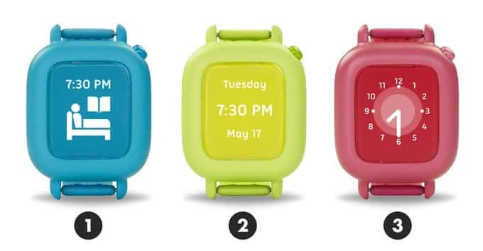 Apple Watch pour apprendre l'heure aux enfants
